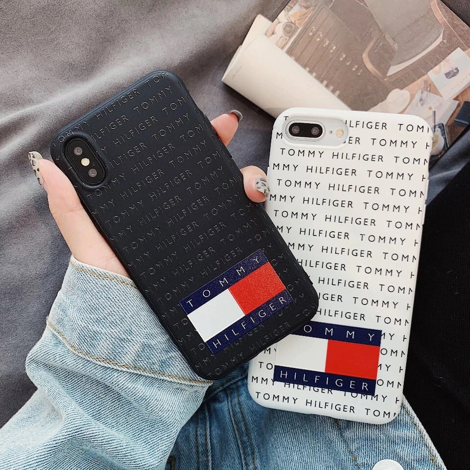 dbb7cd656 ... Load image into Gallery viewer, Tommy Hilfiger Soft Silicone iPhone  Cases ...