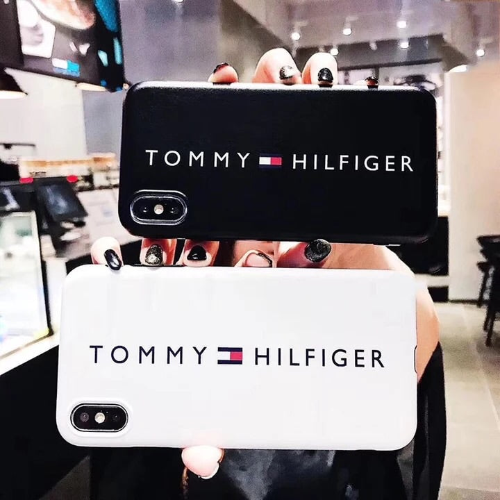 387a596d6 ... Load image into Gallery viewer, Tommy Hilfiger Soft Cover iPhone Cases  ...