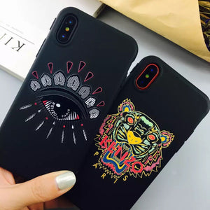 bb418100e Kenzo Soft Silicone iPhone Cases