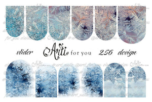 Slider Water Decals - Design 256