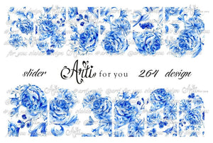 Slider Water Decals - Design 264