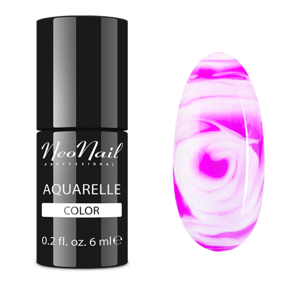Smalto semipermanente 7,2 ml Aquarelle - Fuchsia Aquarelle