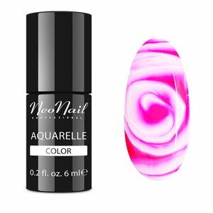 "Gel Polish 6 ml Aquarelle - ""Raspberry Aquarelle"""