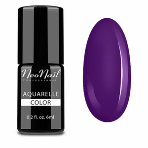 "Gel Polish 6 ml Aquarelle - ""Purple Aquarelle"""
