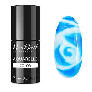 "Gel Polish 6 ml Aquarelle - ""Ocean Aquarelle"""
