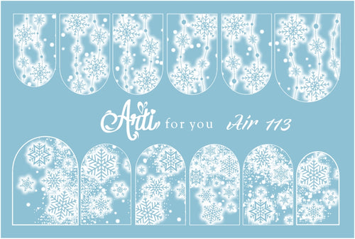 Slider Water Decals - Air 113