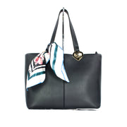 MY TWIN Borsa shopper in similpelle foulard - Mancinelli 1954
