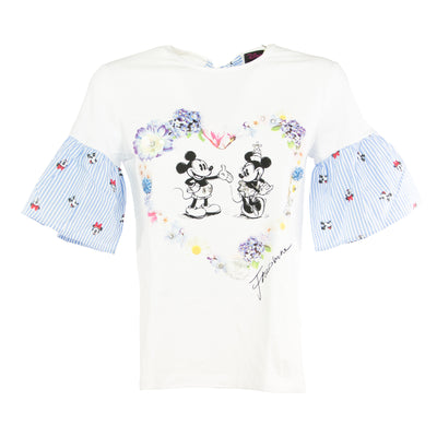 FRACOMINA T-shirt con stampa Minnie e Mickey Mouse - Mancinelli 1954