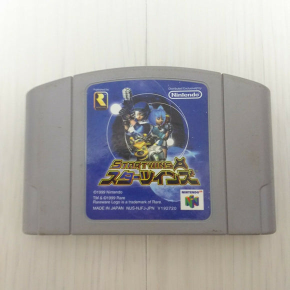 STAR TWINS (American title:Jet force Gemini CARTRIDGE ONLY N64 Japan game)