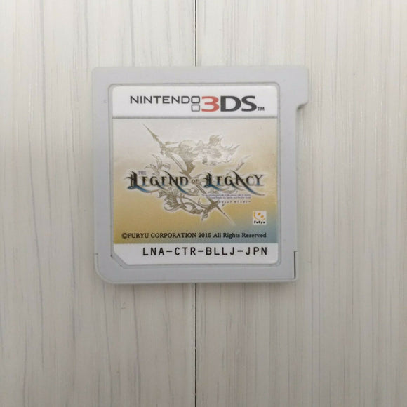 The Legend of Legacy (2015 CARTRIDGE ONLY Nintendo 3DS Japan game)