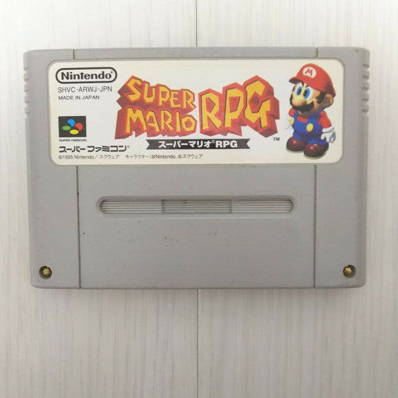 Super Mario RPG (1995 CARTRIDGE ONLY Super NES Japan game)