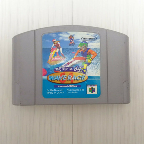 Wave Race 64 Kawasaki JET SKI (1996 CARTRIDGE ONLY N64 Japan game)