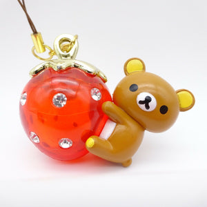 Rirakkuma Figurine Figure KIRAKIRA-ichigo chain Not sold in stores rare