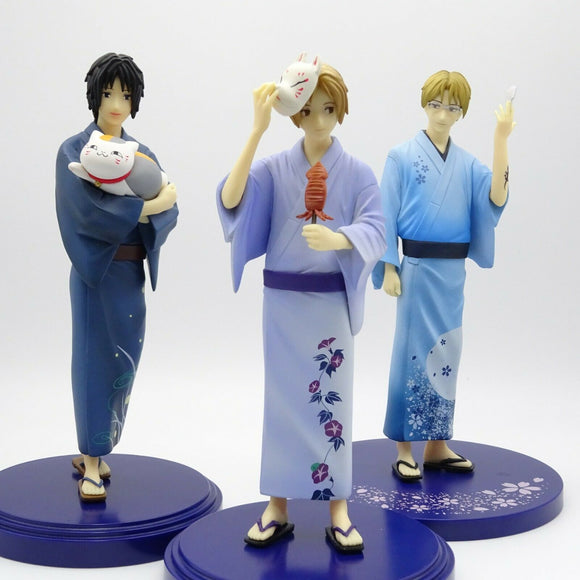 Natsume's Book of Friends Anime DXF YUKATA Figure 3 Types Banpresto