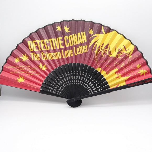 Detective Conan: The Crimson Love Letter Anime Original goods Folding fan