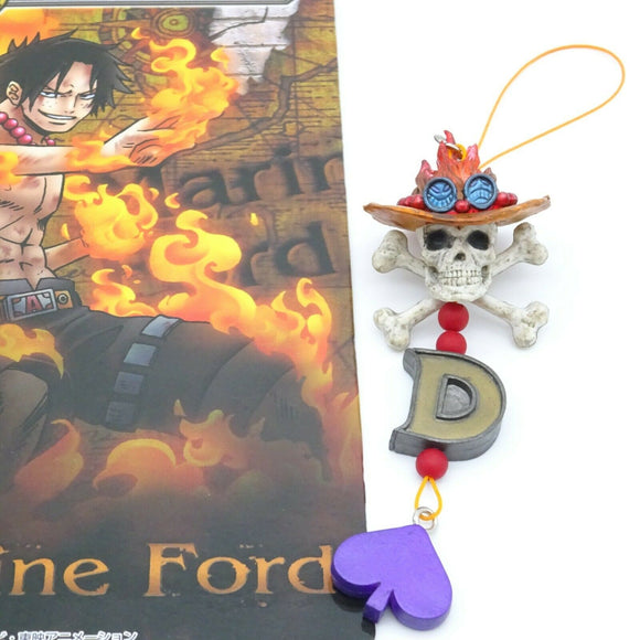 Ichiban Kuji ONE PIECE Anime Design Strap Ace Marineford Final Battle Prize H