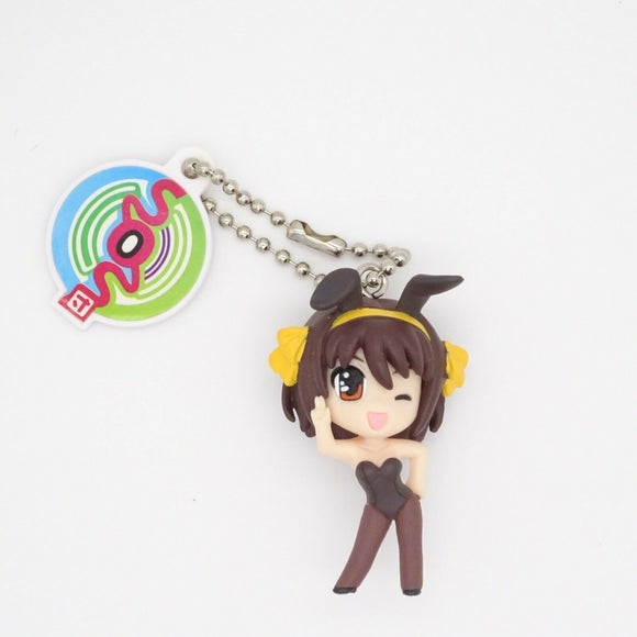 The Melancholy of Haruhi Suzumiya Hare Hare Swing key chain Gashapon 2006