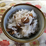 Chestnut rice (栗飯) Lunch set Japanese food Cooking in the range