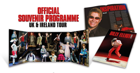 UK Tour souvenir Programme