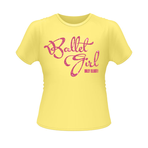 Girls 'Ballet Girl' Glitter tee