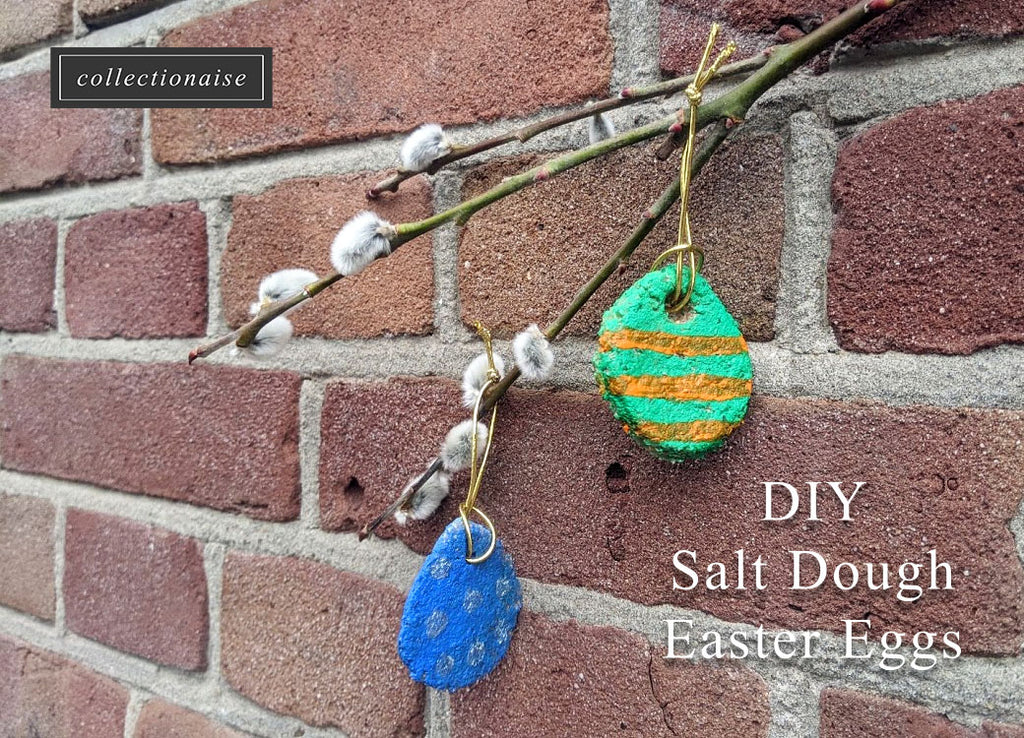 DIY Salt Dough Easter Eggs