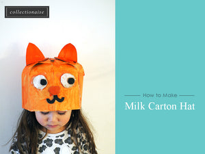 [Kids Craft Idea] How to Make a Milk Carton Hat