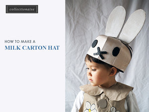 [Step-by-step Instructions] How to Make a Simple Milk Carton Hat