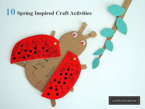 10 spring craft projects