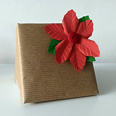 Make Your Own Paper Poinsettia