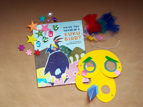 English Storytime + Book + Mask Craft Pack