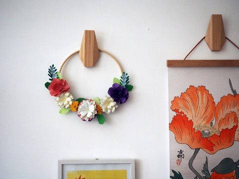 One-on-One Workshop: DIY Paper Flower Wreath