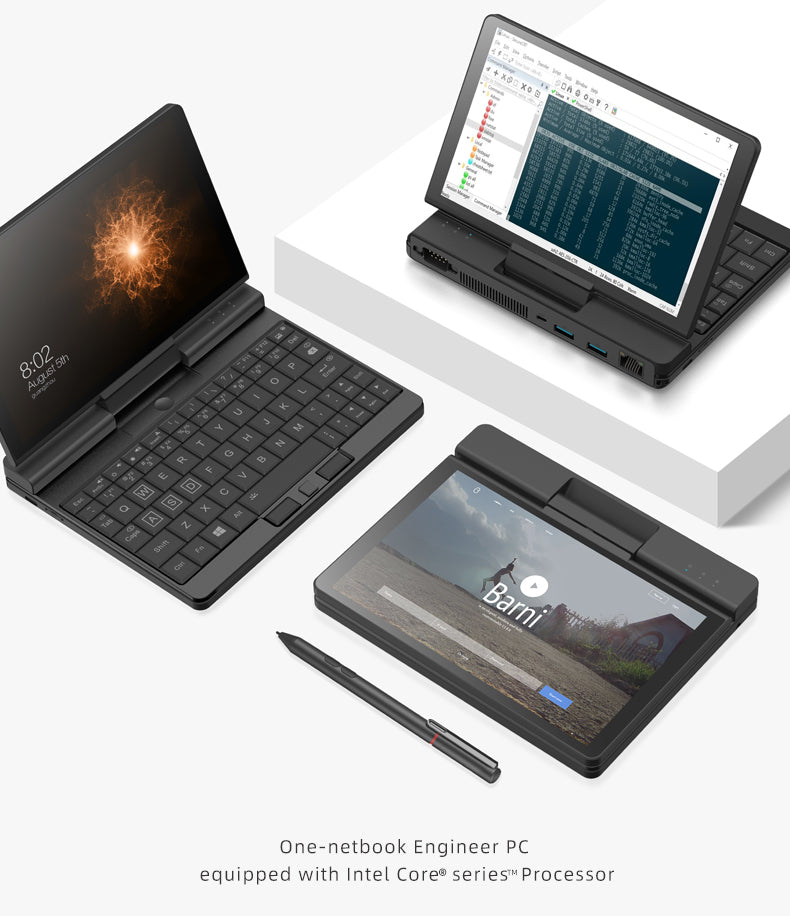 One Netbook A1 - Showed in all usage modes