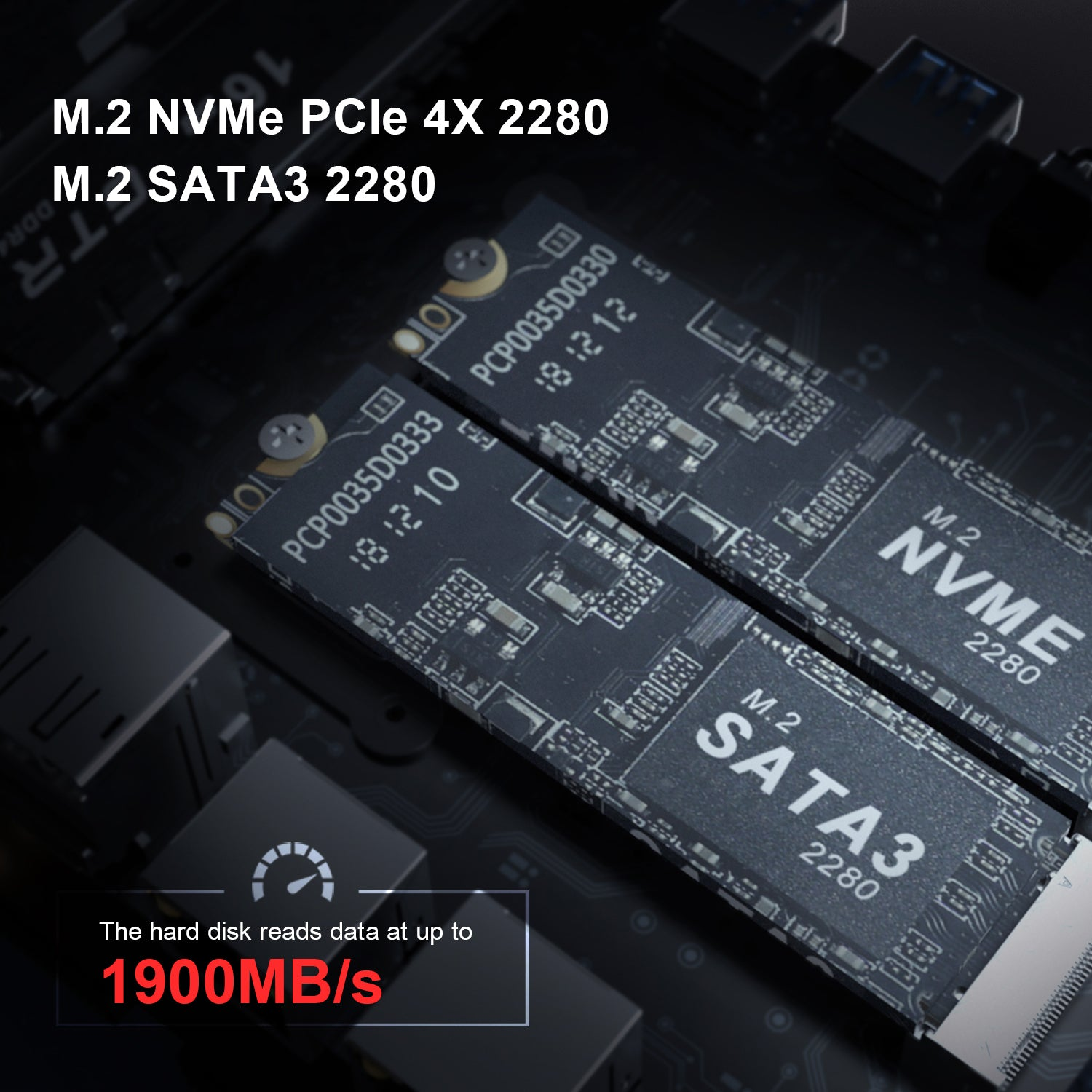 Beelink GT-R NVMe Specifications