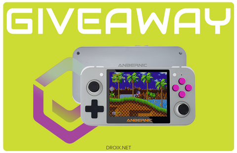 DroiX RG350 Retro Gaming Handheld Giveaway 22nd October 2019