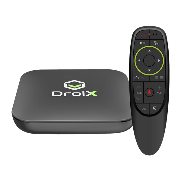 DroiX X3 and DroiX G10 - Front View