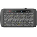 H20 Mini Keyboard with Touchpad showing FULL QWERTY Keyboard and Status Lights