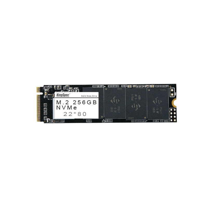 KingSpec NVMe NAND Flash 22*80 Solid State Drive for Computers 256GB