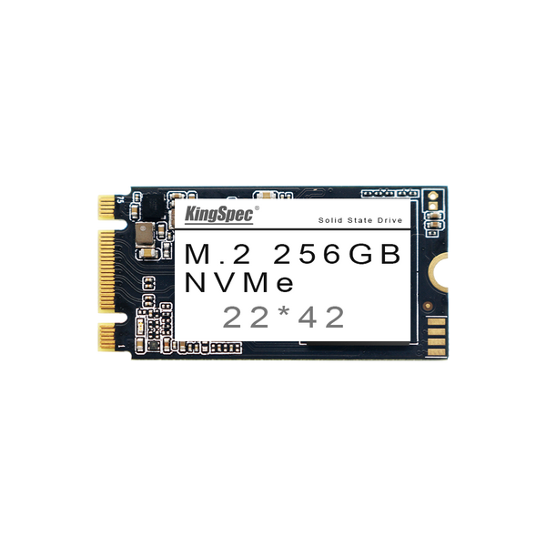 KingSpec NVMe NAND Flash 22*42 Solid State Drive for Computers 256GB
