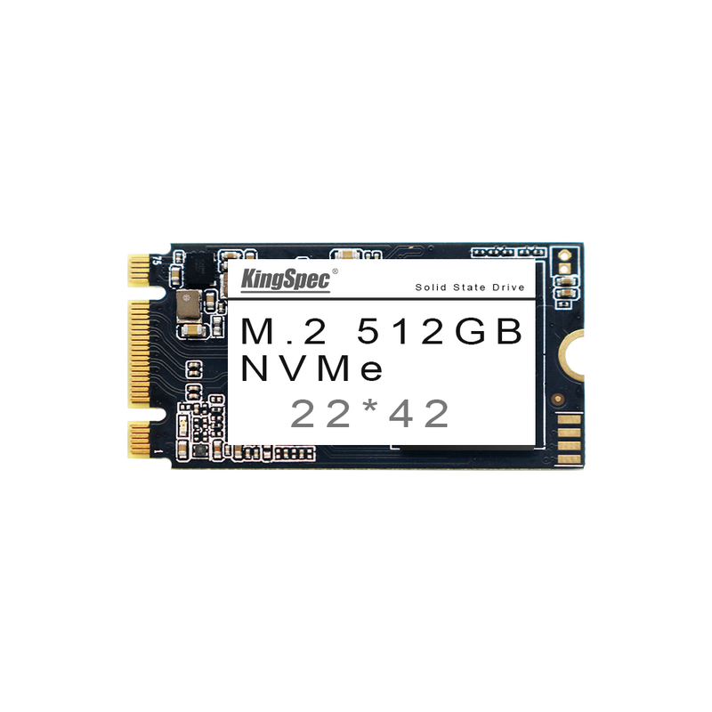 KingSpec NVMe NAND Flash 22*42 Solid State Drive for Computers 512GB