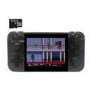 DroiX RetroGame RG350 Retro Gaming Handheld Console - Transparent with 64GB Micro SD Card - Front View