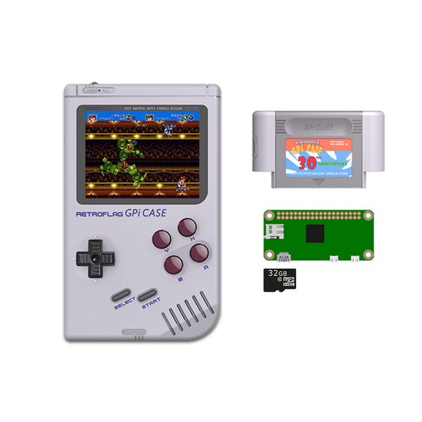 RETROFLAG GPi Case with Raspberry Pi Zero W and 32GB MicroSD Card Ready to Play (4178858868790)