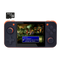 DroiX RetroGame RG350 Retro Gaming Handheld Console - Black with 64GB Micro SD Card - Front View