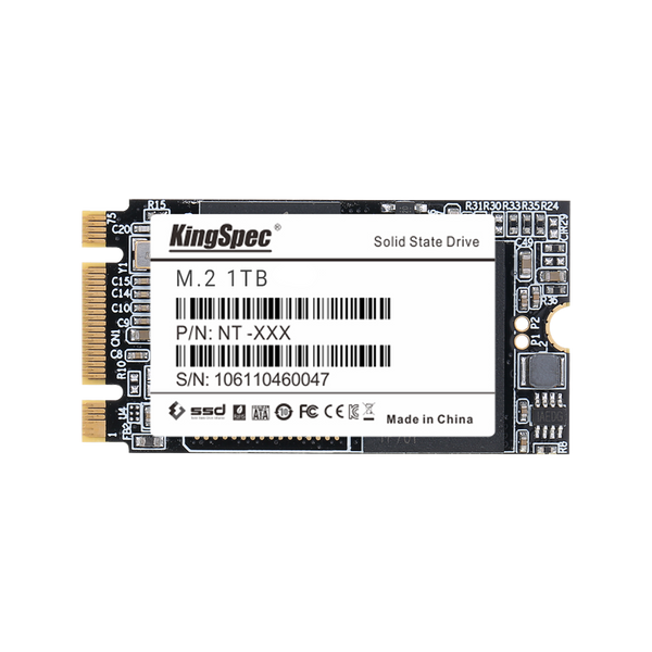 KingSpec NGFF 22*42 M.2 SATA-III Solid State Drive - 1TB Solution (4342848946230)