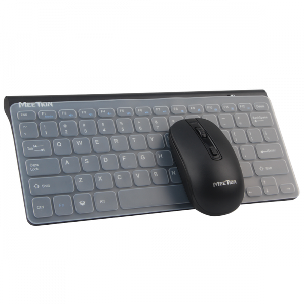 Meetion MT Mini 4000 2.4Ghz Wireless Mini Keyboard and Mouse (4342805594166)