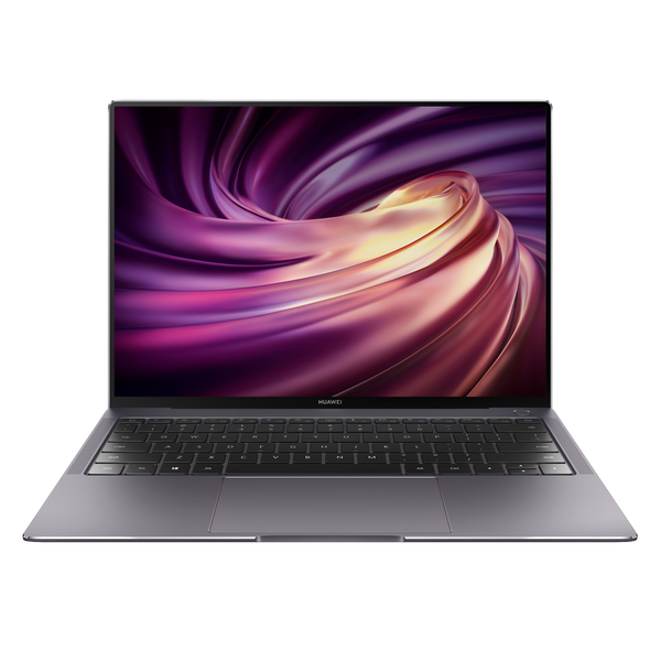 Huawei MateBook Pro X 2020 Windows 10 Up To Intel Core i7 10th Gen Ultrabook Laptop - Front Facing showing Keyboard and Trackpad