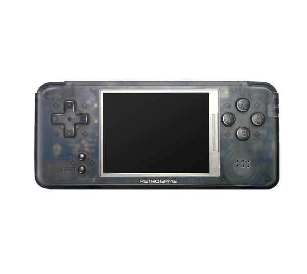 DroiX RetroGame RS-97 PRO Transparent Handheld Portable Console - Front View