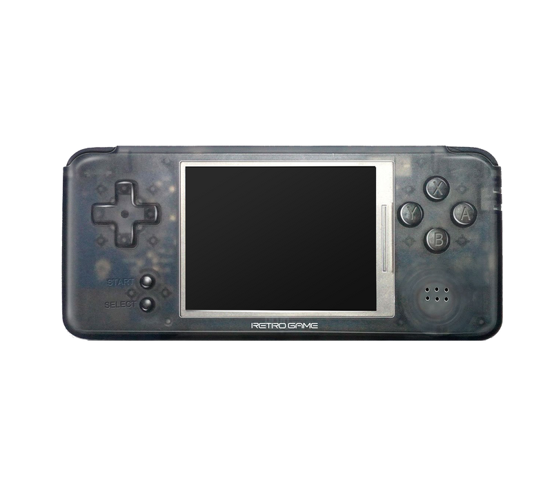 DroiX RetroGame RS-97 PRO Transparent Handheld Portable Console - Front View (4178812108854)