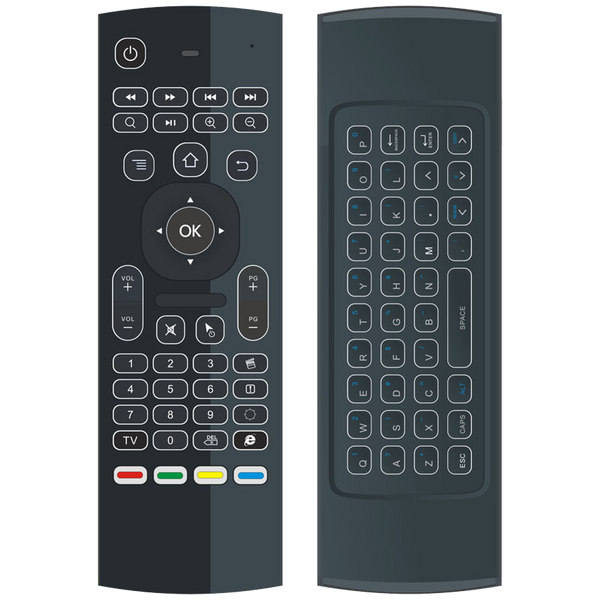 DroiX MX3-L Backlit Air-Mouse Remote Control for Android BOX and HTPC