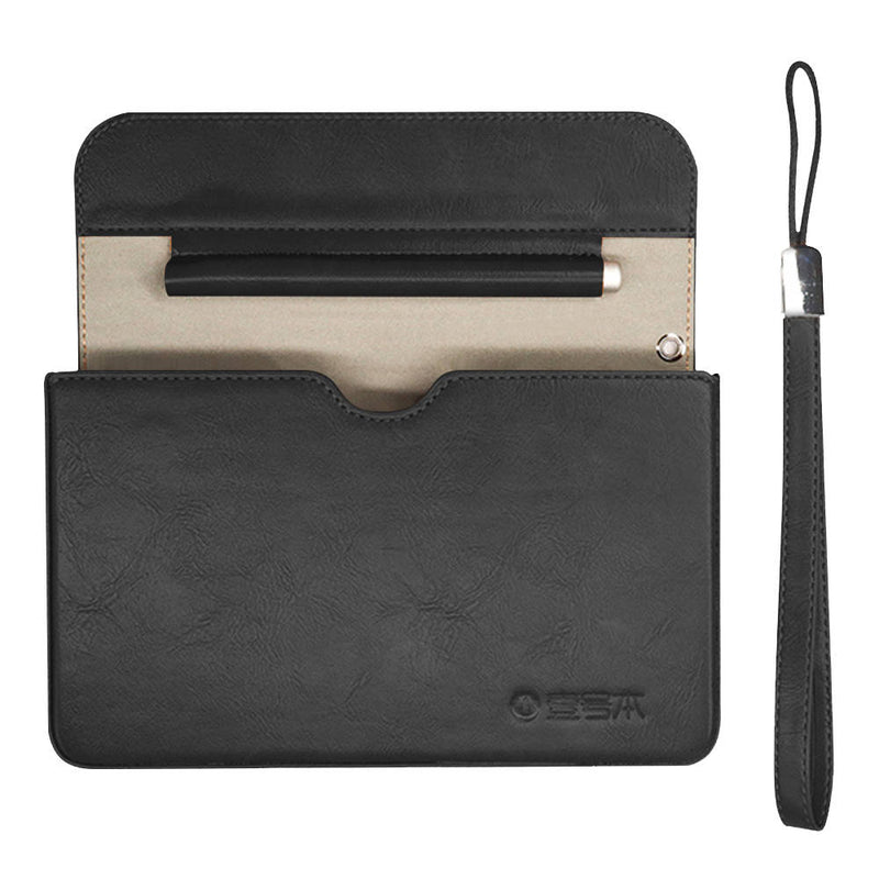 One Netbook Mix 3-Series Official Black Case - Opened showing Laptop Compartment and Stylus Holder (4320583581750)