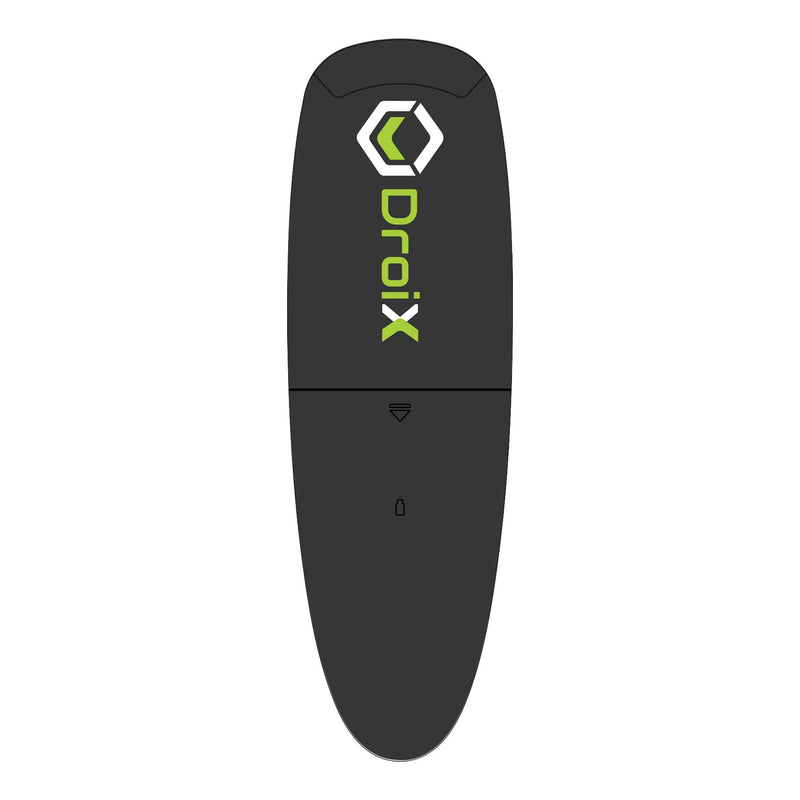 DroiX G10 Air-Mouse showing DroiX Logo - Back View (4115241271350)